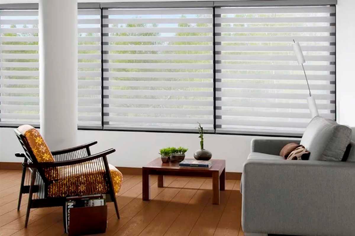 Reggia: cortinas y persianas